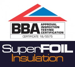 SuperFOIL Insulation Achieve BBA Agrément Approval