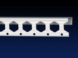 Renderplas PVC clip-on edge bead - EB15 - 15mm - Renderplas Ltd