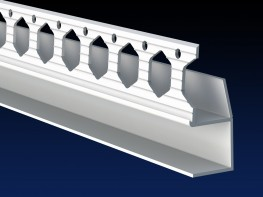 Application:    Architrave beads provide a shadow gap between the wall and ceilings, skirting boards and door frames.  Colours:  Stocked in white.  Performance:   Like all Renderplas products, the drylining range is manufactured from exterior grade, impa...