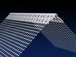 Renderplas PVC EWI corner bead - CB0MESH - 150mm x 100mm mesh image