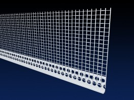 Renderplas 6mm PVC EWI stop bead - RS6MESH - 100mm mesh image