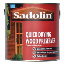 Quick Drying Wood Preserver image