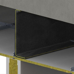 Flexible Acoustic Barriers for Suspended Ceilings FLX image