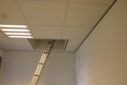 Roof access hatch with extension ladder - Staka Roof Access Hatches