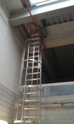 Roof access hatch with fixed ladder - Staka Roof Access Hatches