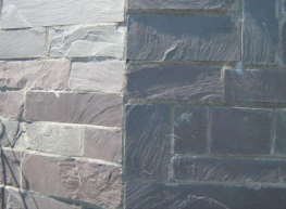 Although more commonly known as a roofing material, Welsh Slate's visual appeal, strength and water resistance also lends itself to being an exceptional building stone. Available in both heather blue and blue grey, Welsh Slate is available is a variety of formats for walling.Advantages:- Extremely hard and durable stone.- Unfading colour.- Unaffected by freeze thaw cycles.- Welsh slate is totally inert and will repel all elements.- Low carbon footprint.