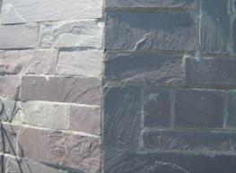 Slate Walling Penrhyn Natural Slate - Welsh Slate