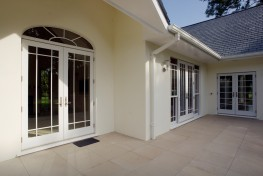 Aluminium Clad Wood French Doors - Marvin Architectural