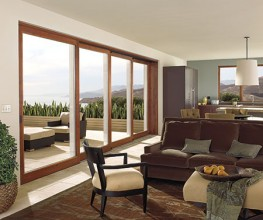 Marvin's sophisticated, contemporary Wooden Sliding Doors are created for smooth operation and dependable performance. From their super-tough Ultrex® sill which withstands traffic to their energy efficient design, Marvin' s Wooden Sliding Doors are a perf...