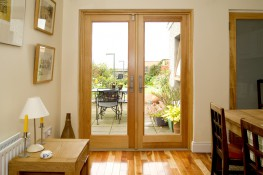 Unmatched in fit and finish, Marvin's timeless Wooden French Doors are a modern classic. Combining traditional design and expert Marvin craftsmanship, our energy-efficient Wooden French Doors feature endless design combinations to complement any space.