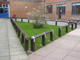 hanit® recycled plastic barriers are strong and durable. There are three forms of barriers available:Recycled Plastic Paddock RailRecycled Plastic Knee RailRecycled Plastic Post and Rail BarrierRecycled Plastic Knee Rail Fencing shown to left. Recycled...