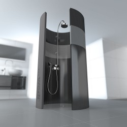 This round Fundo form turns every shower into an experience – and its diameter of only one metre leaves you sufficient space, even in a standard bathroom.The tileable floor units are not only highly practical and reliable, they have also opened up a whole ...