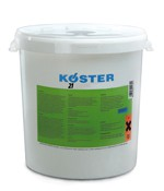A multi purpose waterproofing product with excellent adhesion to dry and moist substrates. KÖSTER 21 is a 2 component, solvent-free, liquid applied, elastic and crack bridging material. It is liquid applied and therefore seamless, which greatly eases applicat...