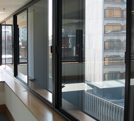 A heavy duty horizontal sliding system designed to treat large windows and doors. Thicker glass specifications will provide higher levels of noise insulation and when fitted with a robust lock option the system achieves Secured by Design accreditation. 