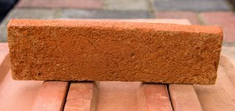 Old Rustic Orange Brick Tile - BAH Brick