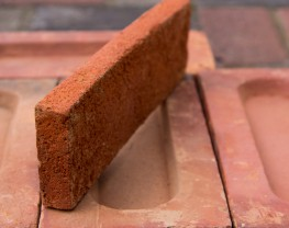 Old Rustic Orange Brick Tile image