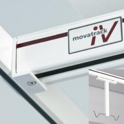 Movatrack IV400 Medium-duty Overhead Intravenous Track System image