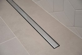 SuperSlim Tile-In Linear Grating 2-Way Fall - On The Level Showers Ltd