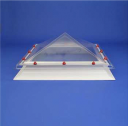 JB Square Rooflight with Pyramid Dome image