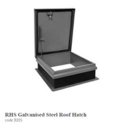 RHS Galvanised Steel Roof Hatch image
