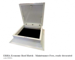 ERHA Economy Roof Hatch image