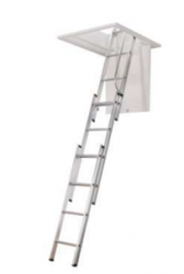 The loft ladder unique friction guides give an added smooth and easy operation The kit contains a loft ladder pole which hooks around the bottom ladder rung and can be used to guide the ladder into the stored or lowered position. The pole can also be used to o...