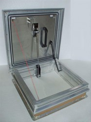 SRHA New Premier 0.43 U-Value Aluminium Roof Hatch image