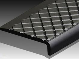 Materials Nickel Bronze, Gunmetal, Aluminium, or Cast Iron.  Dimensions 140 x 34 x L  Applications This stair nosing is for heavily used public stairs where safety and durability are required. Special surface finish with unique tapered groove pattern ensures s...