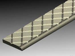 Materials Nickel Bronze, Cast Iron, Gunmetal or Aluminium.  Dimensions 49 x 7 x L  Applications This stair nosing is for internal or external stairways where safety is important in both wet and dry conditions.  Categories Rail and Light Rail, Public and Corpor...