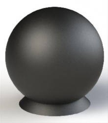 Spherical Cast iron bollard