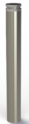 ASF 5008 Stainless Steel Bollard with Solid Machined Top image