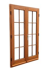 Contemporary or Traditional Lipped Timber French Doors image