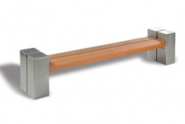 Hardwood Timber Seat Type 1 image