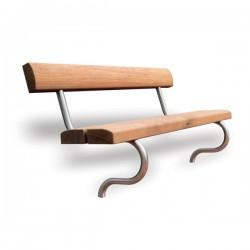 Hardwood Timber Seat Excel image