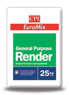 Sand and cement rendering is an everyday task, but with spray applied EuroMix General Purpose Render the job is transformed – it is four times quicker, way cheaper and much less hassle. It's no wonder that EuroMix is the most popular spray applied render on ...