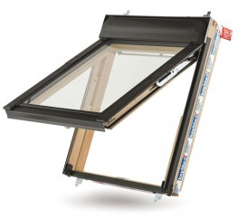 The Keylite Fire Escape Roof Window opens to 45°, complying with statutory regulations. This is ideal in low pitch roofs as the window opens outward, maximising the daylight that enters the room without the sash encroaching on your valuable internal space....