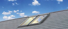 Keylite Ridge (RD) roof windows may be installed along the roof ridge to maximise light and space at the highest point of the pitched ceiling and create a striking feature.   Keylite RD roof windows are ideal for both domestic and commercial applications, an...