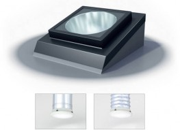 Flat Roof Polycarbonate Dome Sun Lite image
