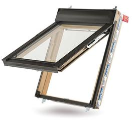 The Keylite Fire Escape Roof Window opens to 45°, complying with statutory regulations.  This is ideal in low pitch roofs as the window opens outward, maximising the daylight that enters the room without the sash encroaching on your valuable internal space.  ...