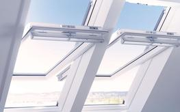 White Finish Roof Window - Keylite Roof Windows