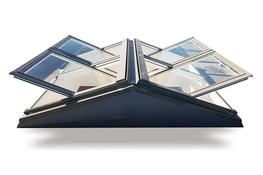 Flat Roof Apex System - Keylite Roof Windows