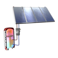 The Ruukki hybrid solar thermal package is an efficient system for making hot running water and for central heating support. Other heating systems, such as heat pumps or boilers, can be connected to the multi-functional hybrid accumulator. In addition to high ...