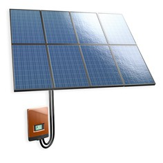 Ruukki solar power packages are ready-to-use grid-connected systems that convert sunlight into electricity The package includes solar panels, rooftop fasteners, cables and an inverter. The solar panels can be installed on any roof and the system is easy to con...