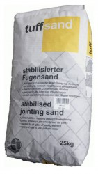 Developed for unbound paving systems, Steintec's tuffsand jointing sand tackles the problems of mechanical cleaning, reduces the need to top up washed out joints, and can extend the life of the paving significantly....