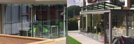 Glazed facades provide any structure with a lightweight glazed infill that provides access, ventilation and natural daylight into multiple areas of a property whilst providing a modern focal point to the exterior.  Our glass facades can be supplied in a fully ...