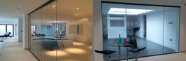 Bespoke Frameless Glass Partitions image