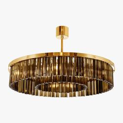 Small Double Drum Chandelier                                                              CL443-SM-75S image