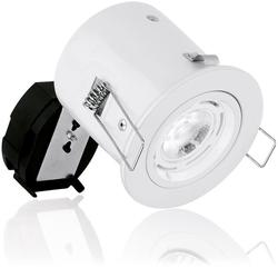 240V GU10 Aluminium Fixed Compact Fire Rated Downlight image