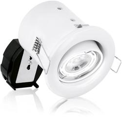 GU10 Pressed Adjustable Spring Clip Fire Rated Downlight image