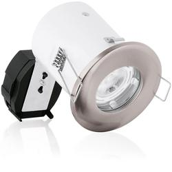 GU10 Pressed Fixed Spring Clip Fire Rated Downlight image